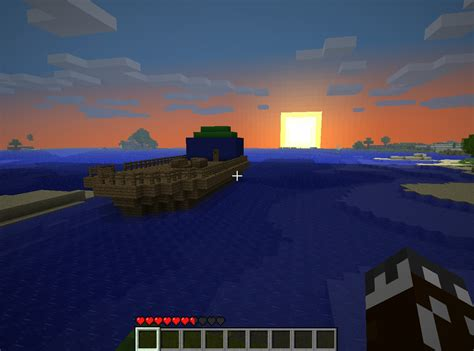 minecraft house boat house boat minecraft project