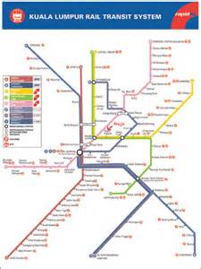 Lrt Monorail Ktm Map Image Gallery Kl Map