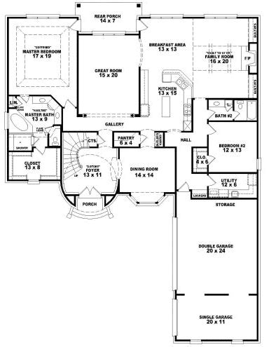 4000 square feet house plans 4000 square foot floor plans