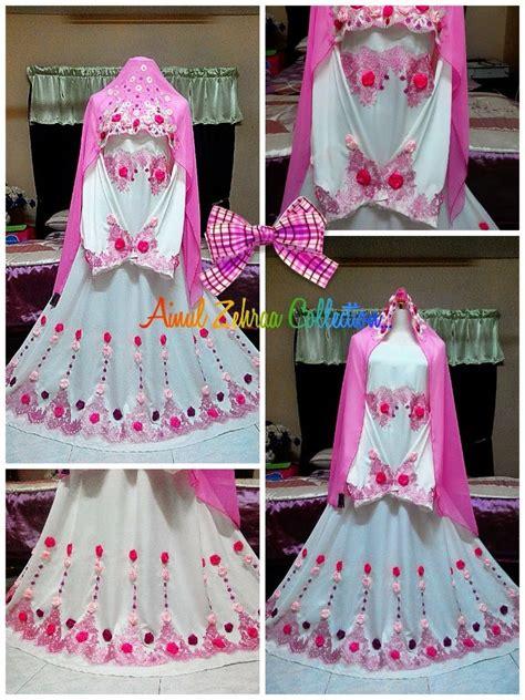 koleksi baju pengantin murah santai leeza wardah s tiny heart review ainul zehra collection dress
