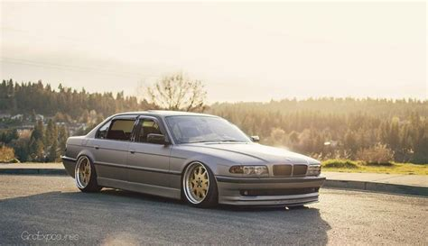 vip bmw 7 series bmw e38 7 series grey slammed bmw ultimate driving