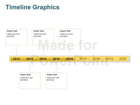 timeline graphics editable powerpoint template