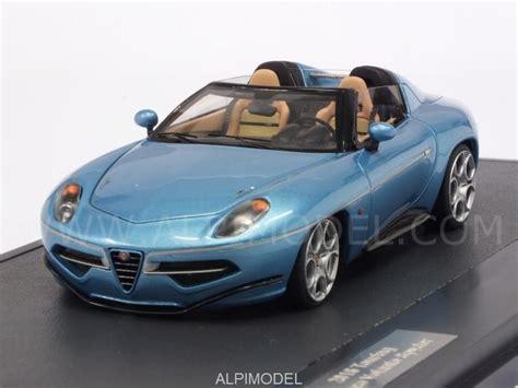 alfa romeo disco volante scale model matrix models alfa romeo disco volante spider touring 2016 light blue metallic 1 43 scale model