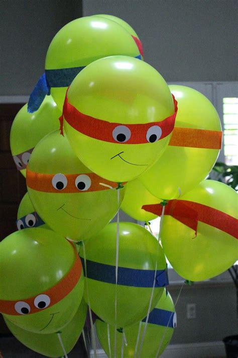 Tmnt Decorations by Crafty Turtles Birthday