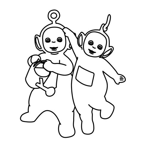 Free Printable Teletubbies Coloring Pages For Kids Coloring Pages Free Printable