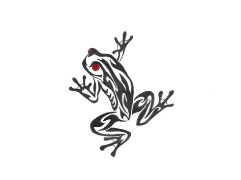 frog tribal tattoos frog tattoos designs ideas and meaning tattoos for you