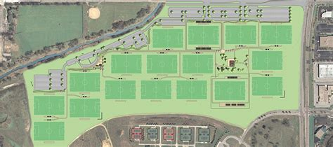 field layout engineer tranquility park soccer complex master plan the clark
