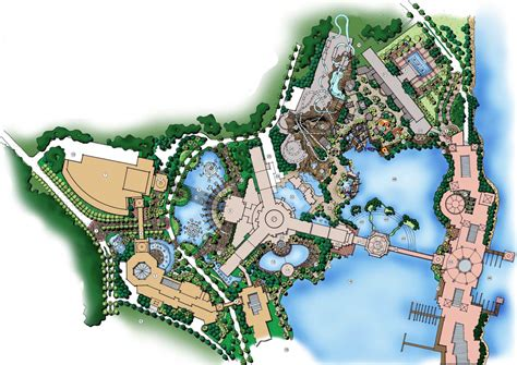 hotel design layout and landscaping nine dragons resort resort landscape pinterest
