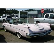 A Persian Pink 1960 Chrysler Imperial Convertible In