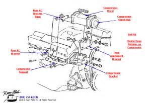 1969 corvette ac compressor parts parts amp accessories