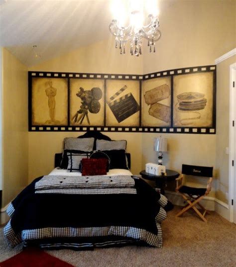 hollywood themed bedroom movie themed bedroom angela painted this hollywood movie