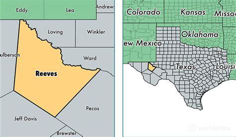 reeves county texas map reeves county texas map of reeves county tx where is reeves county