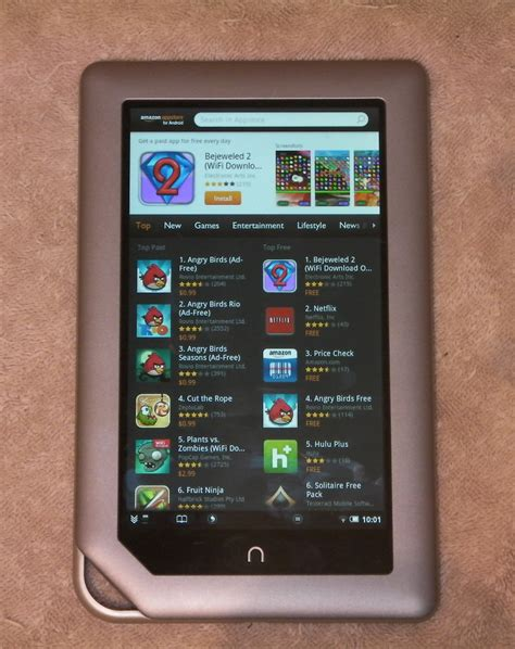Barnes And Noble Publishing Nook Tablet Now Runs Kindle Aldiko Amp More No Hack
