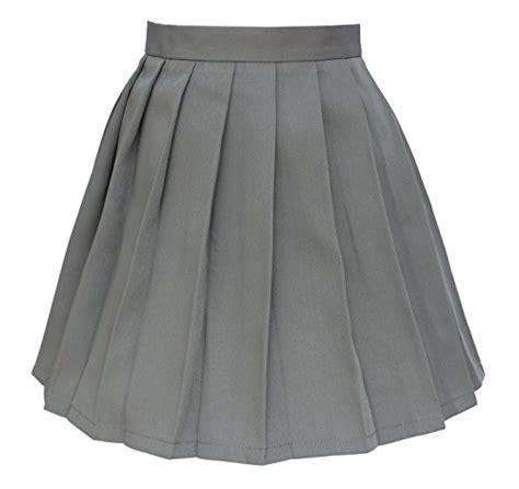 44 s school high waist flat pleated