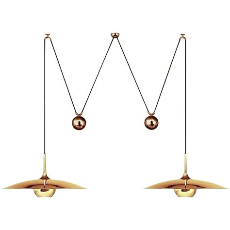 Counterweight Pendant Light Pendant Light With Two Center Counterweight By Florian Schulz At 1stdibs