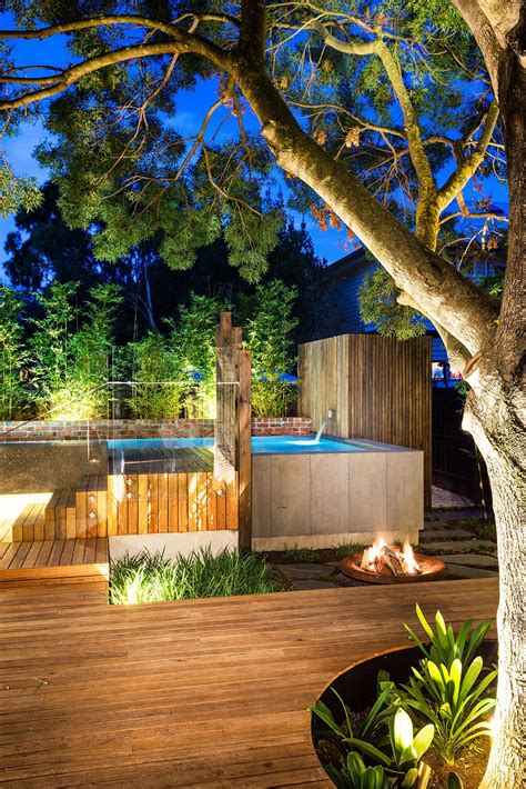 backyard pools by design family fun modern backyard design for outdoor experiences to come freshome com