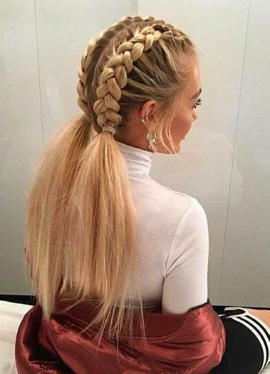 White Hairstyles by 25 Best Ideas About White Braids On