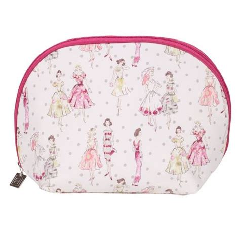 Soft Pink Eight Dotted Fashion Bag pin by click health on ss14 cosmetic bags