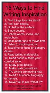 inspiration ideas author jody hedlund 15 ways to find writing inspiration in 2015