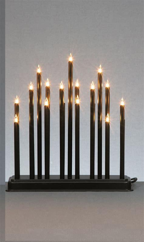 30cm 19 light bulb led traditional candlebridge xmas
