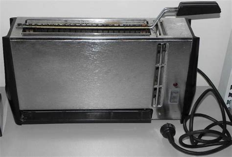 Retro Stainless Steel Toaster Vintage Sunbeam Malley S Vertical Griller Toaster