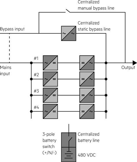 wiring diagram for ups bypass switch
