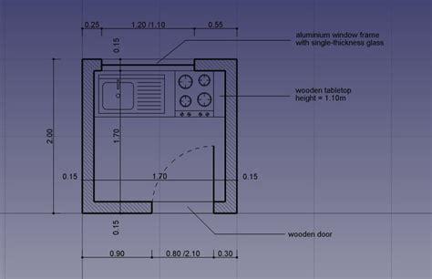 draftsight floor plan librecad house plan tutorial