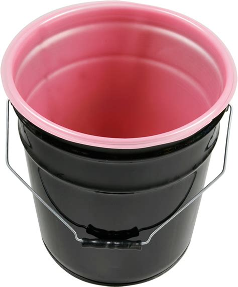Pail 1 5 Gallons 5 gallon antistatic rigid pail liner 15 mil 100 per