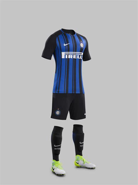 Jersey Inter Milan Drifit inter milan home jersey 2017 18 pro soccer news