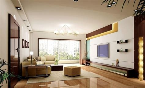living room tv wall lighting design
