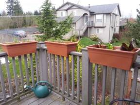 planters and flower boxes for patio railings cpl