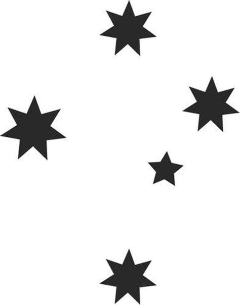 southern cross temporary tattoo reusable airbrush stencils templates southern