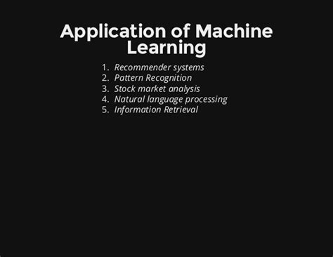 pattern recognition and machine learning open source machine learning with r