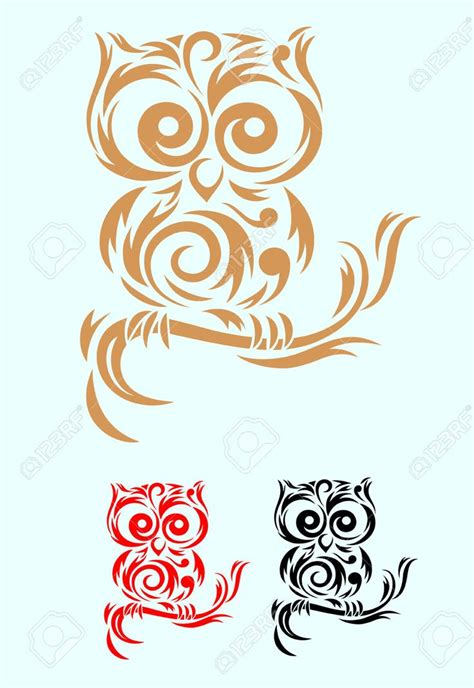 owl tattoo designs art 25 best ideas about tribal owl tattoos on