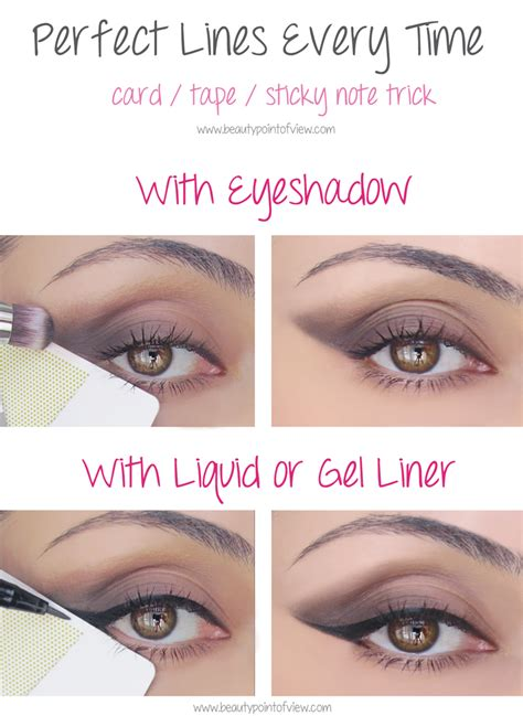 Eyeshadow Hacks eye makeup tricks must point of view