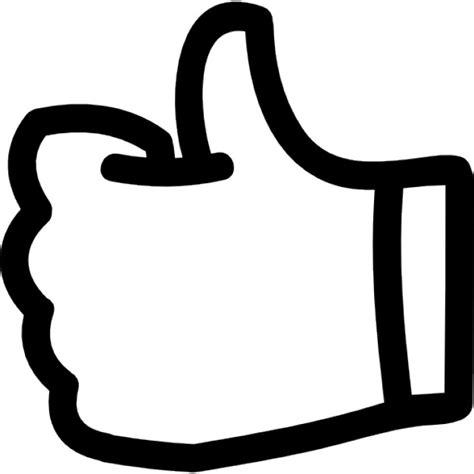 imagenes pulgar ok como el pulgar arriba dibujado a mano s 237 mbolo de esquema