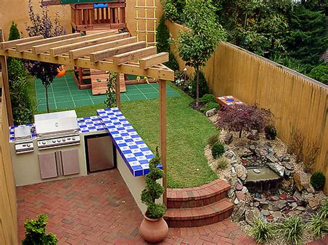 decorating small backyards small outdoor kitchen ideas home interior design