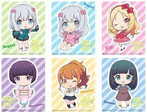 Stiker Eromanga Sensei Bahan Vinyl ero sensei trading smartphone sticker set of 6