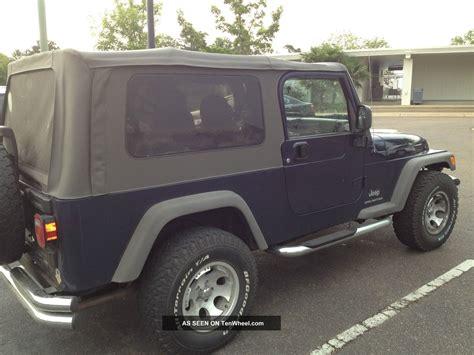 2005 Jeep Wrangler 4 Door 2005 Jeep Wrangler Unlimited Sport Utility 2 Door 4 0l