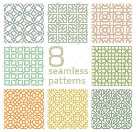 pattern linear photoshop stock vector graphicriver linear patterns 9012887