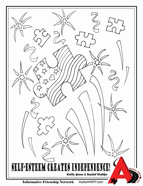 color for autism autism ribbon coloring page coloring home