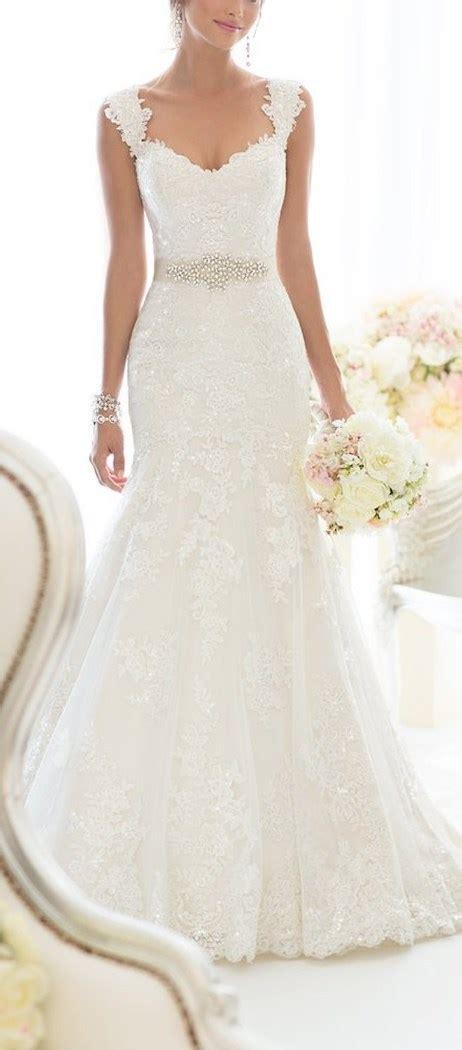elegant  shoulder crystal lace wedding dress cute dresses