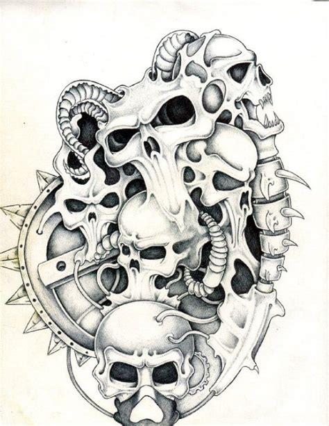 biomechanical tattoo artists edmonton biomech skulls biomech skulls pinterest skulls