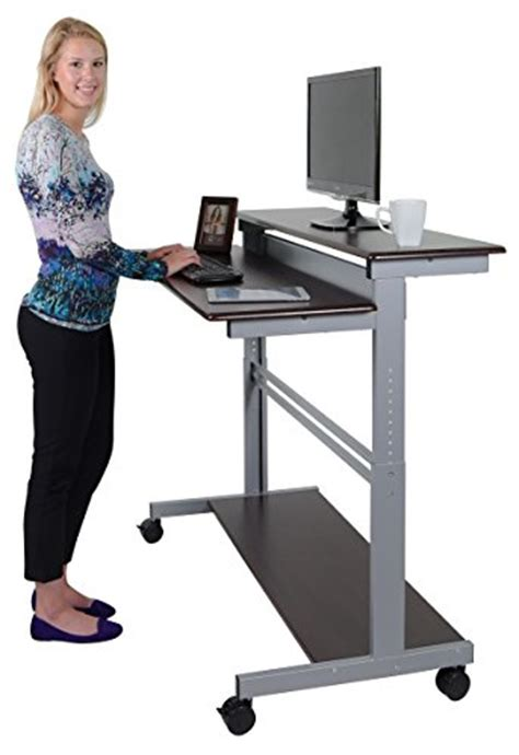 diy standing desk ikea home furniture design