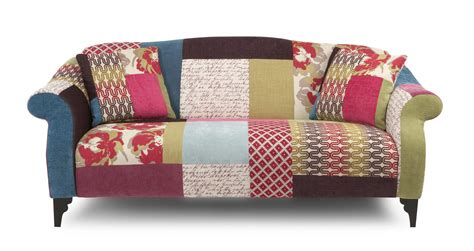Patchwork Sofas And Chairs - shout maxi sofa shout patchwork dfs ireland