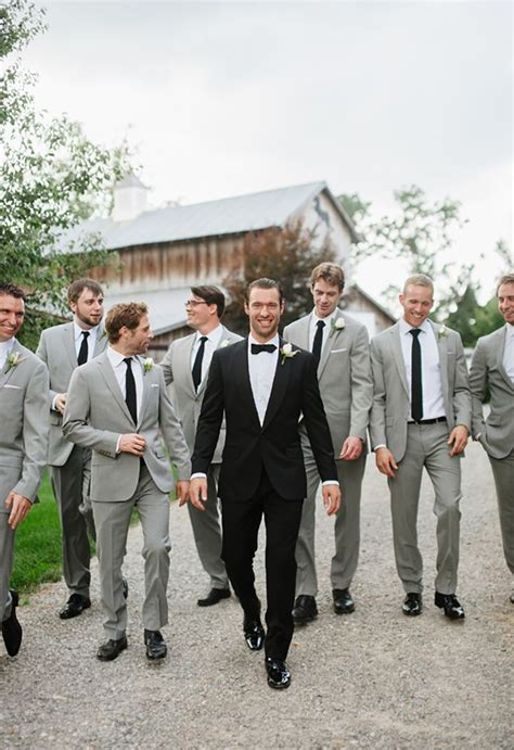 25 best ideas about gray groomsmen suits on pinterest