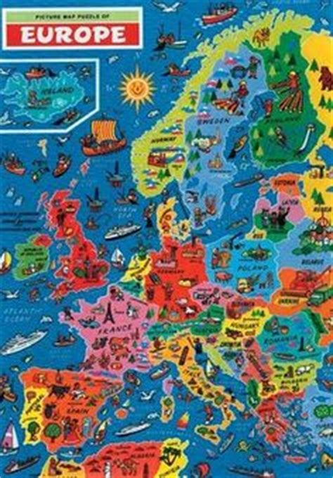 usa map jigsaw puzzle by hamilton grovely 1000 images about europe for on europe
