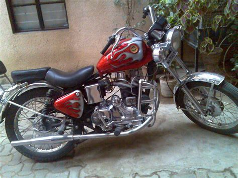 Modification Bikes In India by Bikers World Modifications In Royal Enfield Bullet 350cc