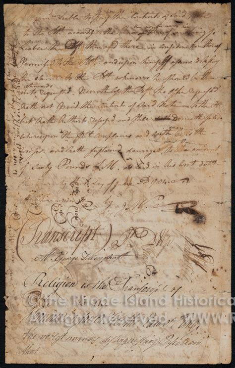 Kent County Court Records Colonial Justice Early Rhode Island Court Records Project Rhode Island Historical