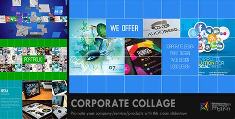 Metro Style Slideshow After Effects Project Files Videohive Collage After Effects Template Free